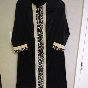 Vintage Vanity Fair Zip Front Robe